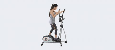 Cardio Max Fitness JSB HF79 Home Elliptical Cross Trainer Bike