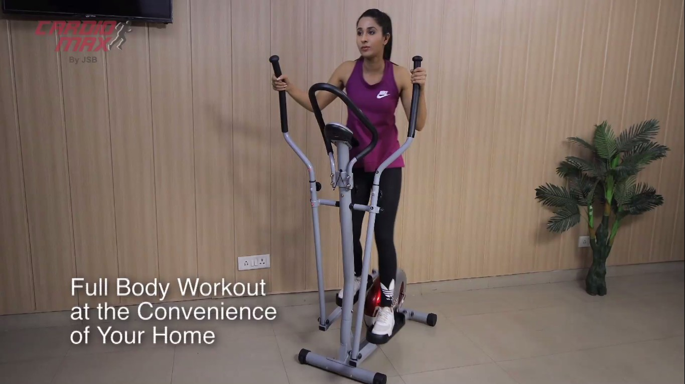 Cardio Max JSB HF147 Cross Trainer Exercise Cycle India